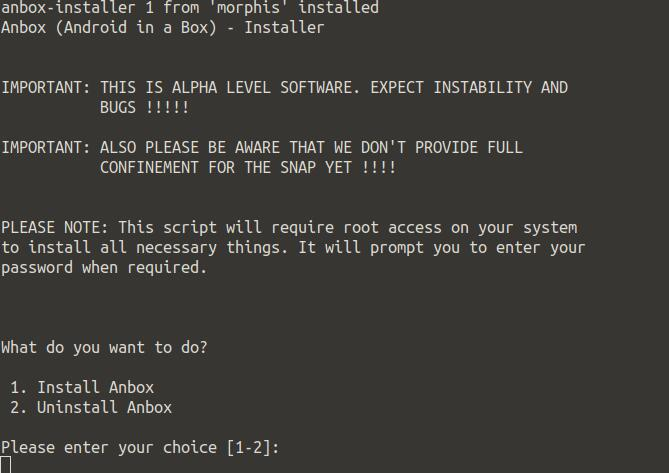Linux上运行Android应用程序的方案