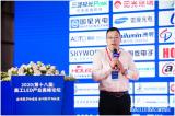 兆驰光元刘传标:《Mini倒装&小间距分立器件封装技术》的主题演讲