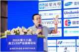 李照华发表了《照明与显示双驱动》的主题演讲
