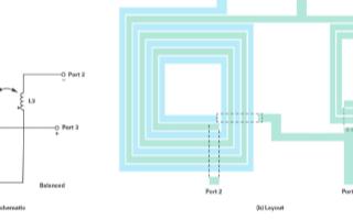基于Ruthroff型寬帶巴倫結構實現雙平衡混頻...