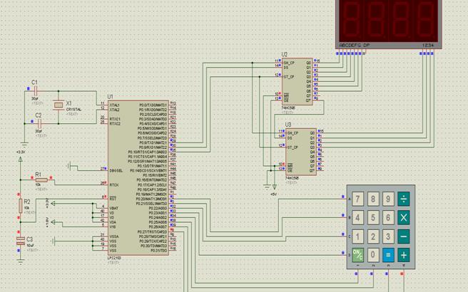 简易嵌入式计算器的设计方案