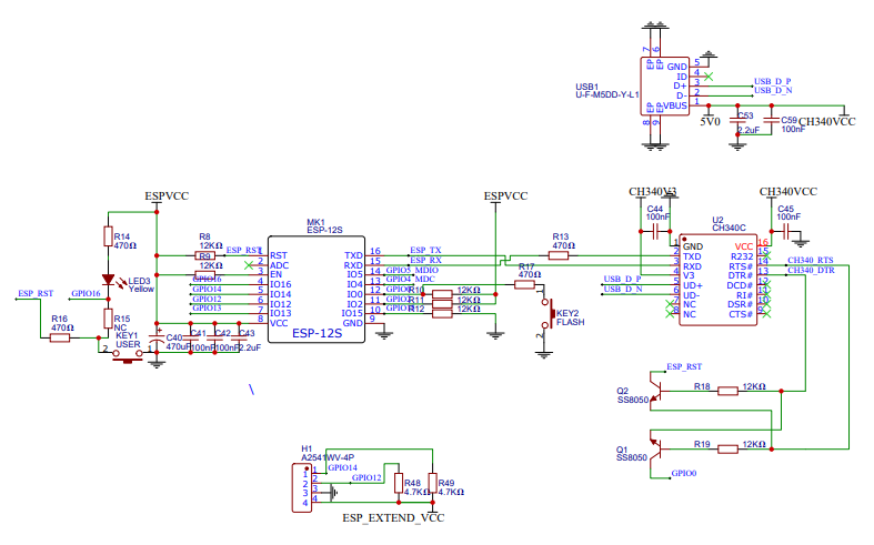 使用RTL8367RB路由器芯片实现交换机的电路原理图免费下载