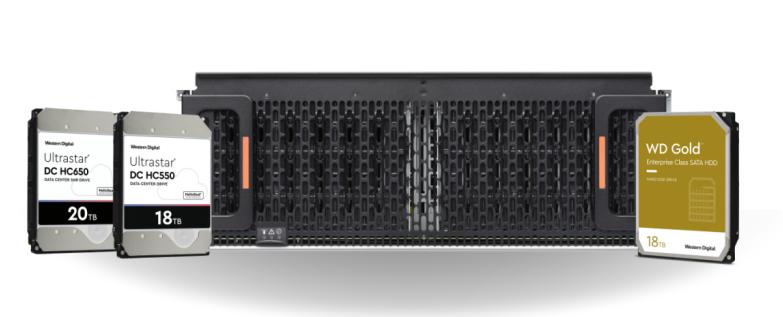西部數據推出18TB和20TB Ultrastar HDD,推動企業級HDD技術持續創新