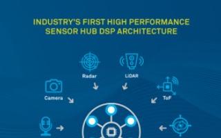 CEVA SensPro专用处理器,可用作于传感器产品中枢
