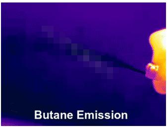 FLIR光学气体热像仪的系列产品可用于检测各种气体