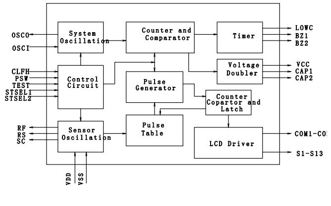 电子体温计芯片ZH203的中英文数据手册