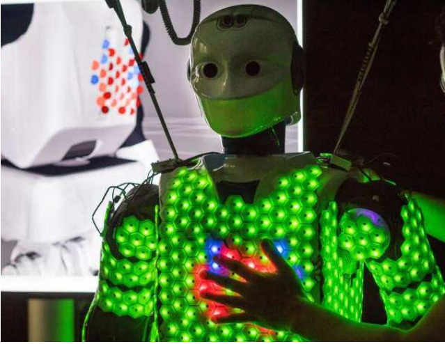 六边形传感器构成电子皮肤解析