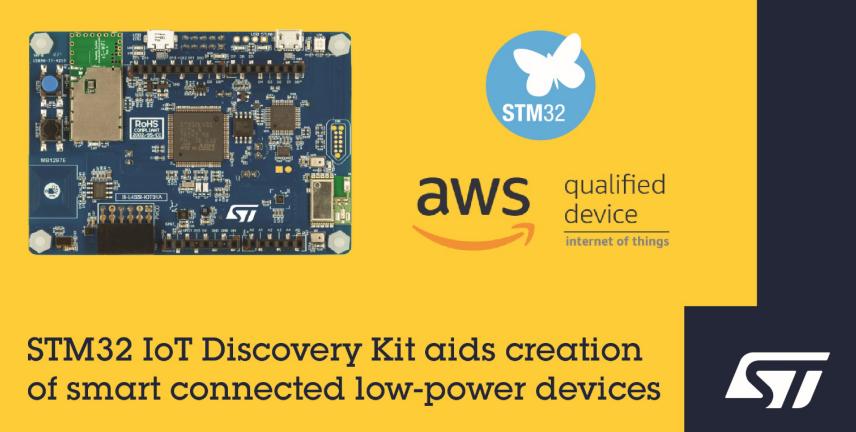 意法半导体推出B-L4S5I-IOT01A STM32探索套件,简化物联网节点开发难题
