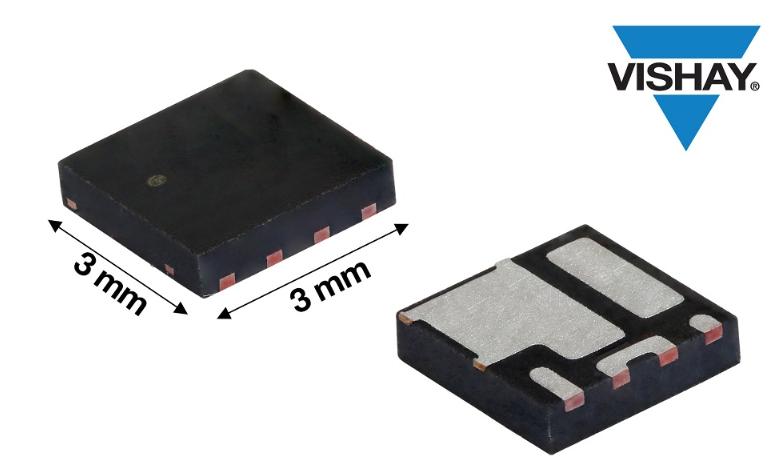 Vishay推出新款30V n溝道MOSFET半橋功率級模塊---SiZF300DT