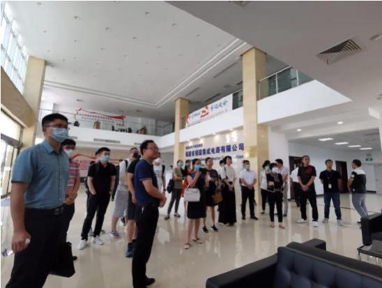北京理工大学人工智能研究院一行到福联公司考察