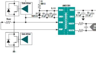 突破分立式电流检测放大器可满足基本或增强型隔离要求