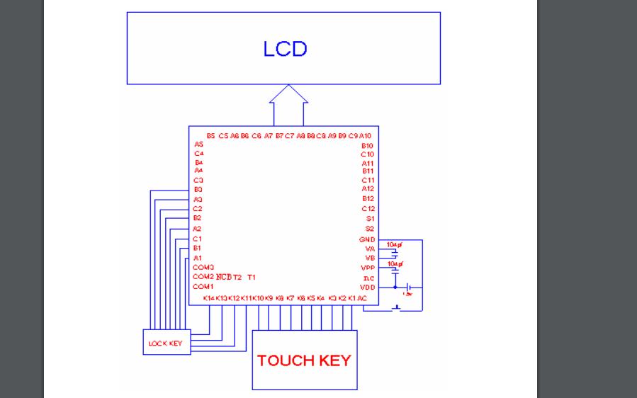 ZH1537計算器芯片的數據手冊免費下載