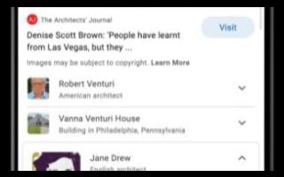 Google正在将其知识图谱与在线查找的图片进行更深入的集成