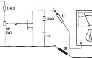 采用万用表检测结型场效应管的步骤和方法