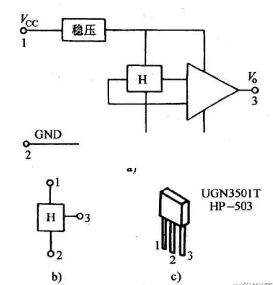霍爾傳感器的主要特性參數