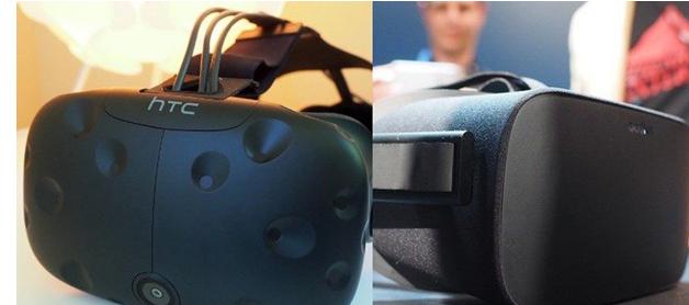 VR头显市场的定量比较