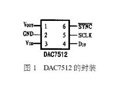 串行數模轉換器DAC7512的性能特點及功能應用...