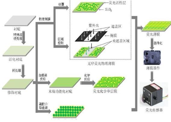 新型傳感技術 薄膜基熒光傳感