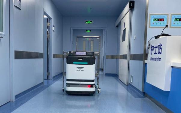 京東數科自主研發室內運送AI機器人落地