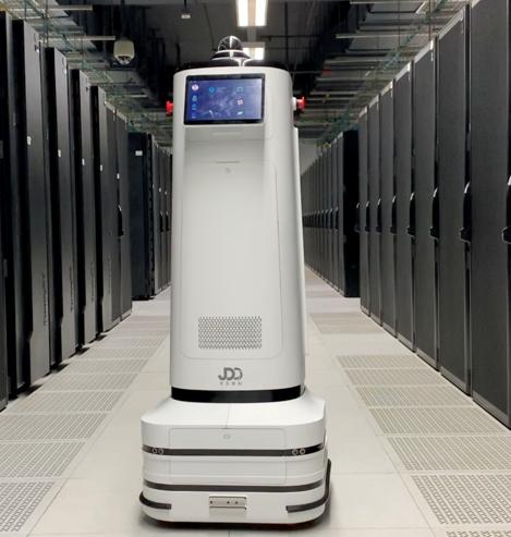 京東數科機房巡檢AI機器人和鐵路巡檢AI機器人巡檢時間低于30秒