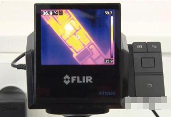 FLIR ETS320非接触式热测量系统在移动设备售后市场服务中的应用