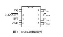 数字温度测控器件DS1620的工作模式和应用实例