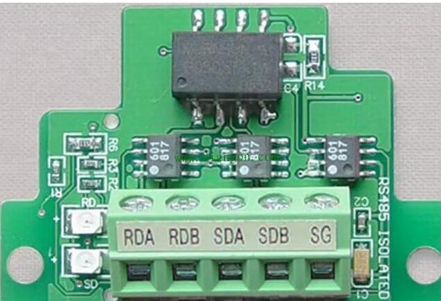 PLC的RS485通信口設計