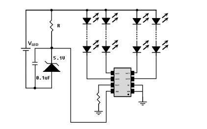 NU514恒流LED驱动器的数据手册免费下载