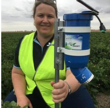 澳大利亚研发出新型农业传感器可预测农作物用水量