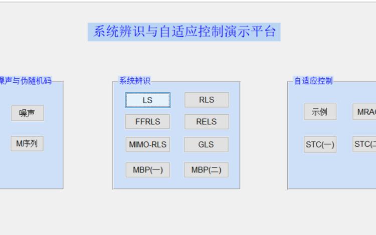 系统辨识和自适应控制的课件资料合集免费下载