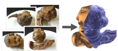 博物館3D數字化建設矩陣式傳感器掃描技術