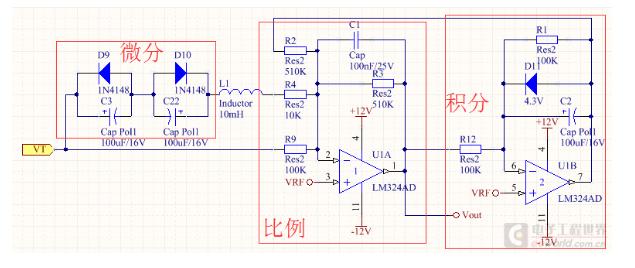 如何通过R10电位器线性改变VRF的电压值