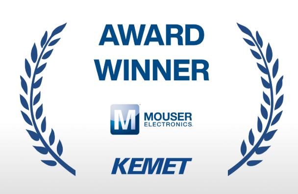 贸泽电子荣膺KEMET 2019年度优质服务分销商称号