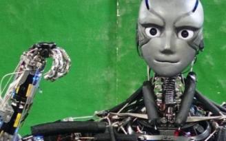 日本研发出可以完全模仿人类行为活动的智能机器人