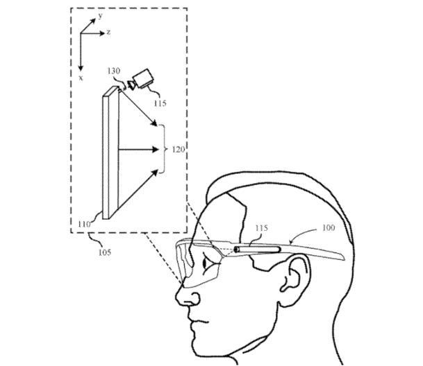 利用反射鏡角度,蘋果研發了一種提升AR視場角的方案