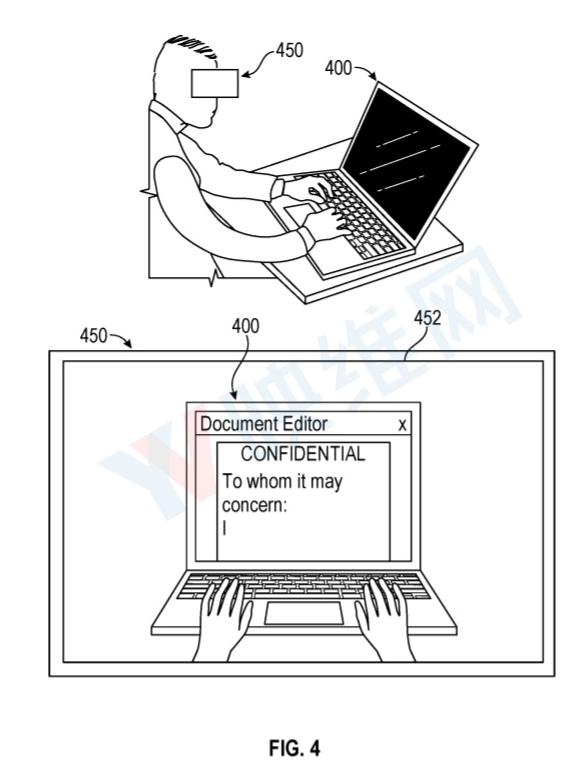 """苹果为AR眼镜提出""""隐私屏幕""""新专利"""