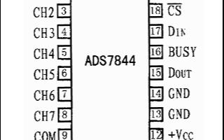 模数转换器ADS7844的结构、工作原理及应用分...