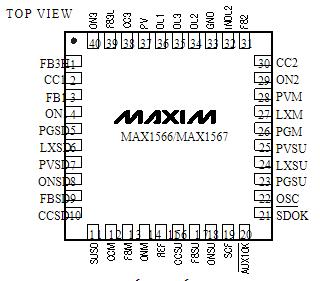 數碼相機電源轉換器MAX1567的性能特點及適用...