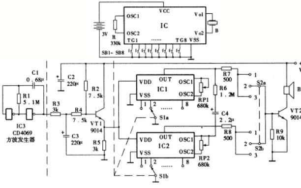 聲光集成電路的使用十個案例說明