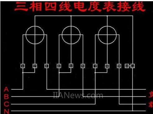 次级与电度表的电压线圈并联的原则