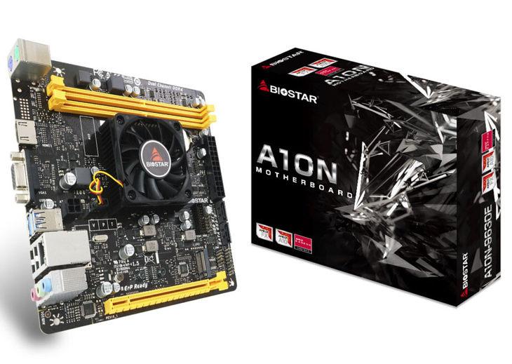映泰A10N-9630E主板 集成AMD四核处理器,最大加速频率高达3.3GHz