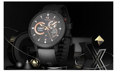 智能的運動手表TicWatch GTX