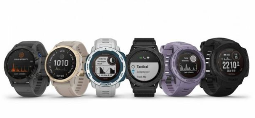 Garmin發布一系列智能手表新產品 添加太陽能充電功能