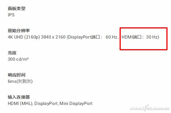 新显示器中HDMI线版本有什么区别和意义
