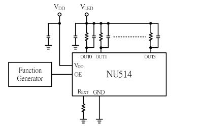 4路恒流LED驅動器芯片NU514的數據手冊免費下載