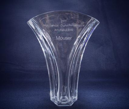 贸泽电子连续第二年荣获Amphenol Corporation卓越电子商务类大奖
