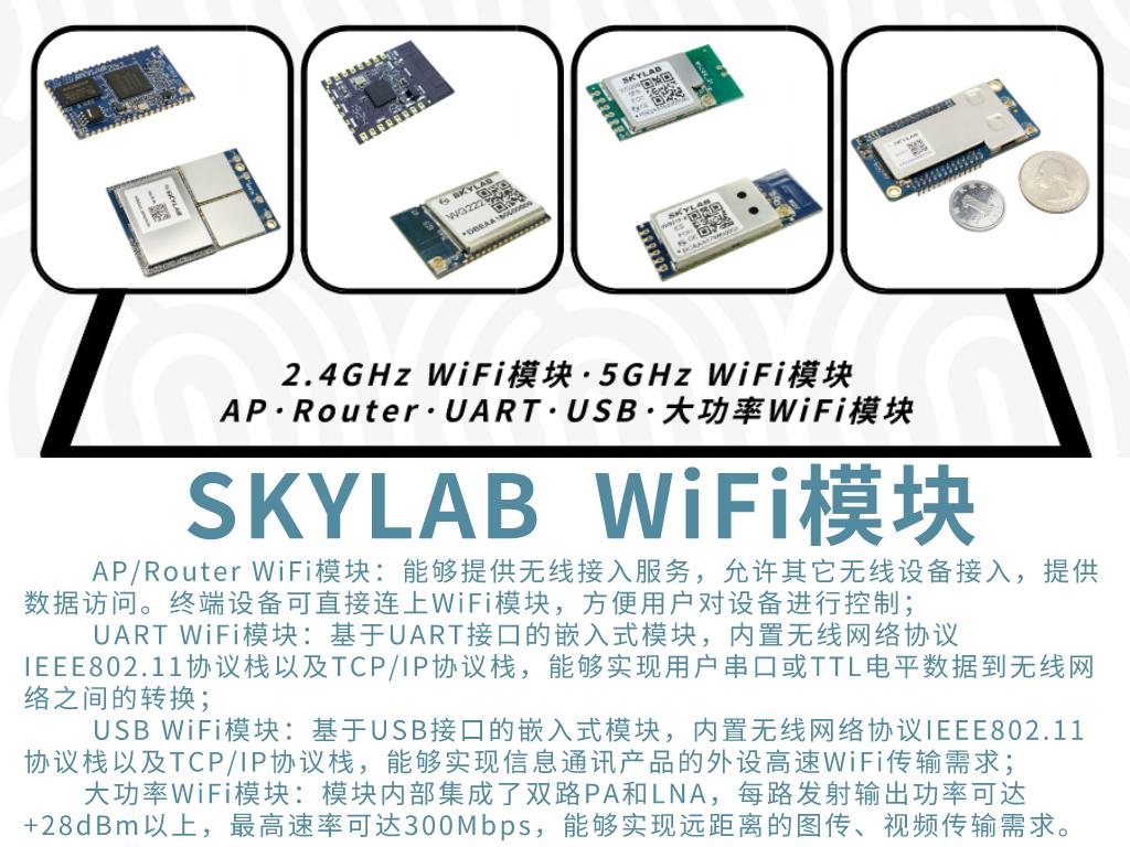 盘点物联网中常用的WiFi模块应用