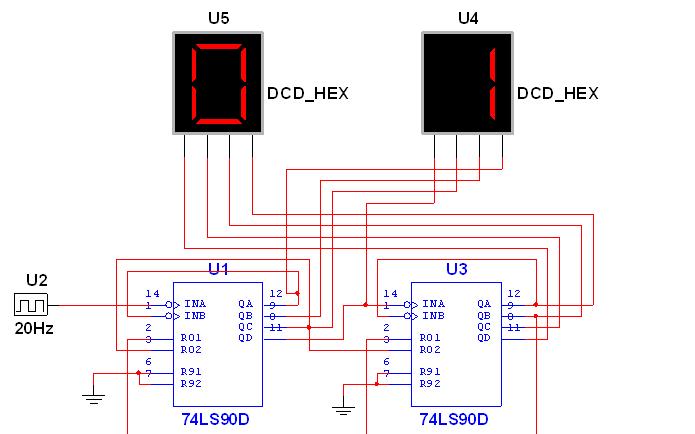 使用數字電路芯片實現的分秒計時器資料合集