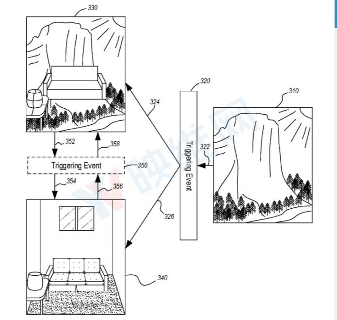 微软新VR头显防护系统专利可警告真实世界的物理障...