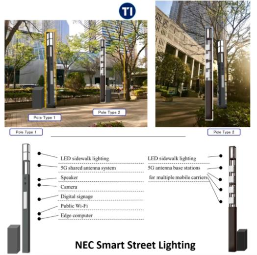 參考日本為例,走進日本5G路燈性智慧燈桿
